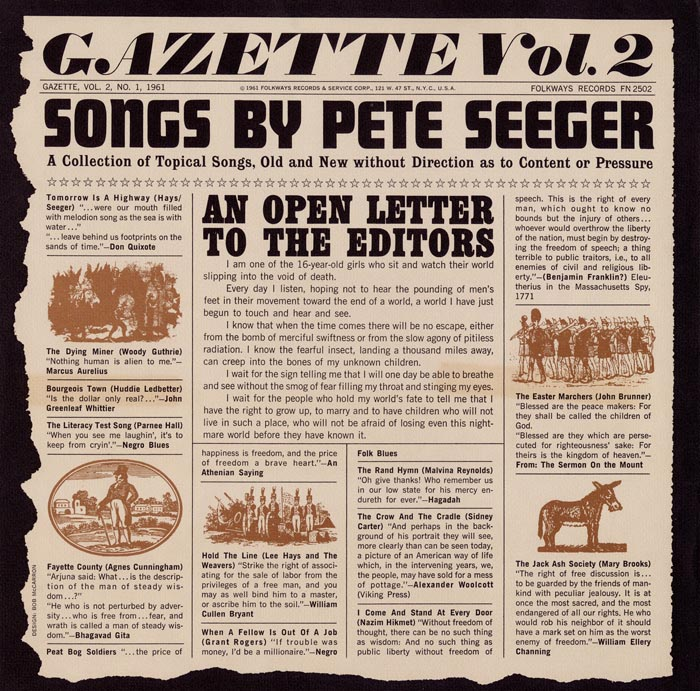 "Folkways Gazette Vol 2 (<a href="" http://goo.gl/vPkolu"">Click for Audio Sample</a>)"